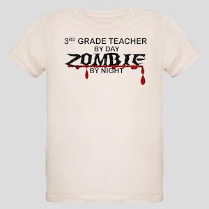 3rd Grade Zombie Organic Kids T-Shirt