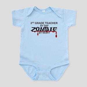 3rd Grade Zombie Infant Bodysuit