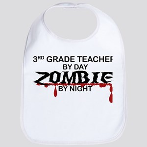 3rd Grade Zombie Bib