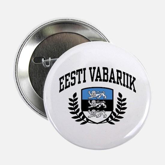 """Eesti Vabariik 2.25"""" Button"""