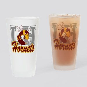Fighting Hornet Drinking Glass