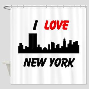 I love NY Shower Curtain