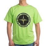 USS INCHON Green T-Shirt