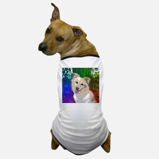 Polly Rainbow Dog T-Shirt
