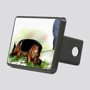 trackgscard Rectangular Hitch Cover
