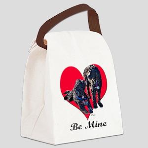 poodlesvaltshirt Canvas Lunch Bag