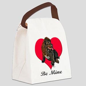 newfievaltshirt Canvas Lunch Bag
