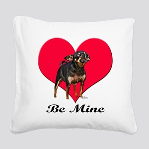 blrattervaltshirt Square Canvas Pillow