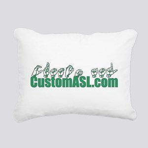 SAMPLE Item Rectangular Canvas Pillow