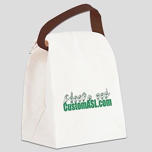 SAMPLE Item Canvas Lunch Bag