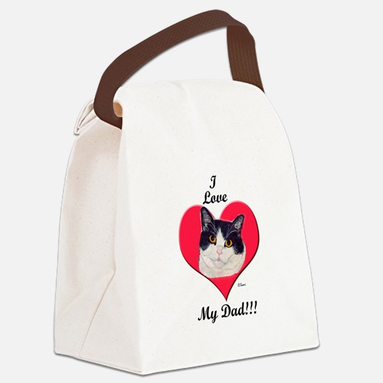 oreodadtshirt.png Canvas Lunch Bag