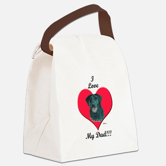 dakotadadtshirt.png Canvas Lunch Bag