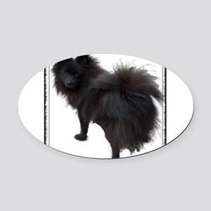 blpomtee Oval Car Magnet