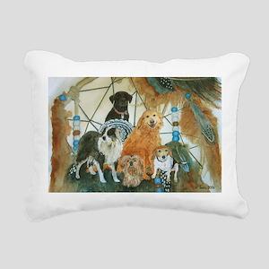 dcminiposter Rectangular Canvas Pillow