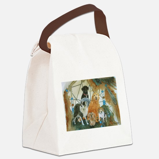 dcminiposter.png Canvas Lunch Bag