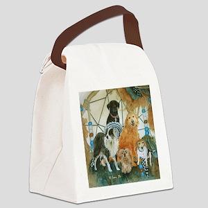 dcclock Canvas Lunch Bag