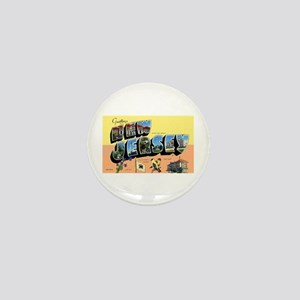 New Jersey Greetings Mini Button