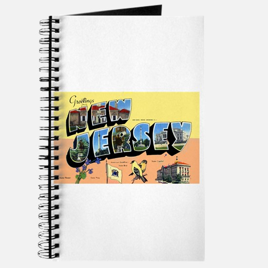 New Jersey Greetings Journal