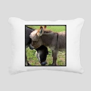 donkeyhugtee Rectangular Canvas Pillow