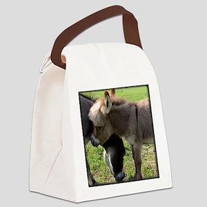 donkeyhugtee Canvas Lunch Bag