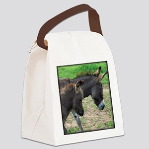 donkeymombabytee Canvas Lunch Bag