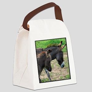 donkeymombabytee Canvas Lunch Bag