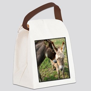momdonkeykisstee Canvas Lunch Bag