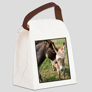 momdonkeykisstee Canvas Lunch Bag