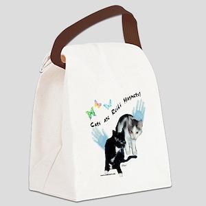 reikicattshirt Canvas Lunch Bag