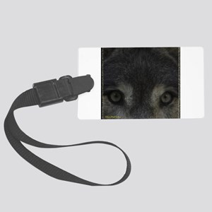 Wolf Eyes: The Mystic Large Luggage Tag