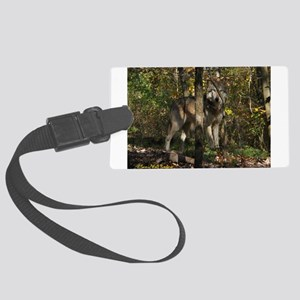 1wolf13 Large Luggage Tag