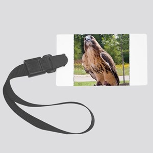 Red Tail Hawk (1) Large Luggage Tag