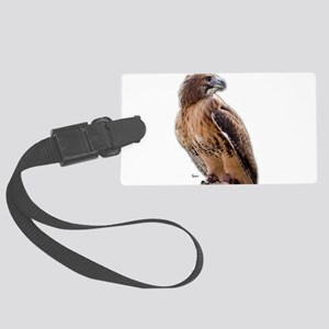 Red Tail Hawk (3) Large Luggage Tag