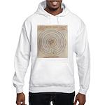 Jericho Map Hooded Sweatshirt
