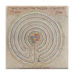 Jericho Map Tile Coaster