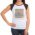 Jericho Map Women's Cap Sleeve T-Shirt