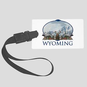 Wyoming Large Luggage Tag