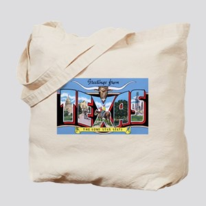 Texas Greetings Tote Bag
