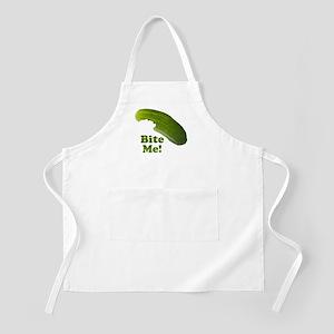 Bite Me! Pickle Apron