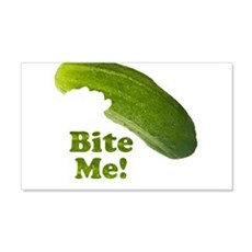 Bite Me! Pickle Wall Decal