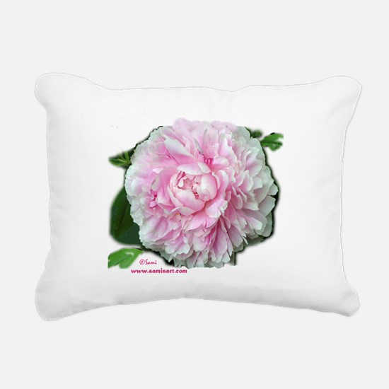 peonytshirt.png Rectangular Canvas Pillow