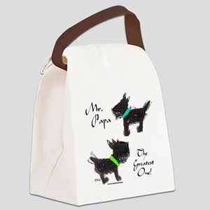 2dogtshirt Canvas Lunch Bag