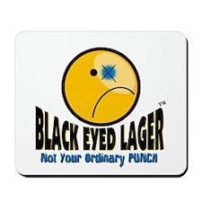 Black Eyed Lager Mousepad