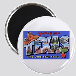 Texas Greetings Magnet