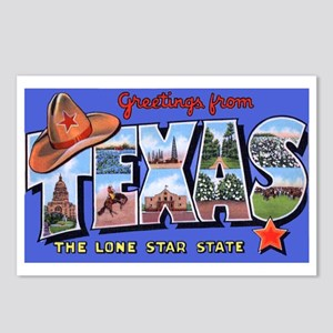 Texas greetings postcards cafepress texas greetings postcards package of 8 m4hsunfo