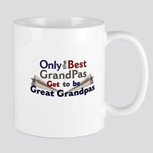 The Best Great Grandpas Mug