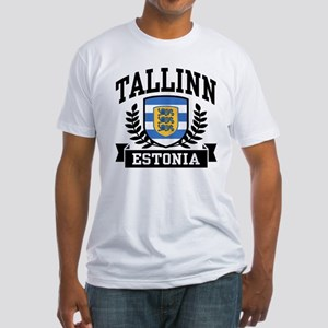 Tallinn Estonia Fitted T-Shirt