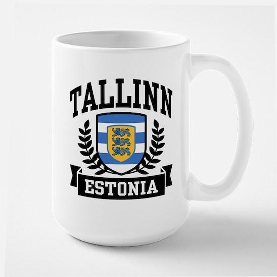 Tallinn Estonia Large Mug