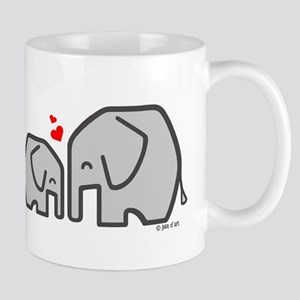 Elephants (4) 11 oz Ceramic Mug