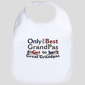 Best Great Grandpa 2 Bib